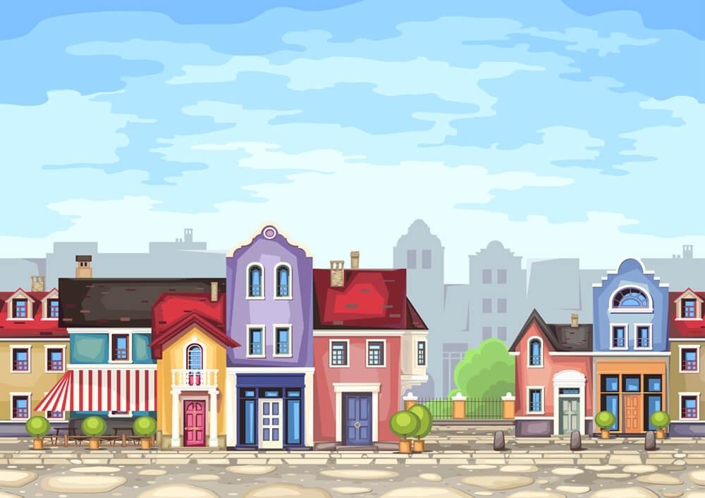Gehobene Wohnlage gezeichnet